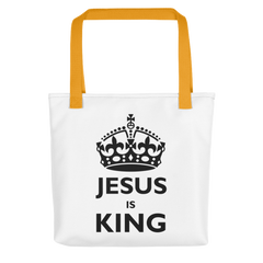 Tote bag: Jesus is King