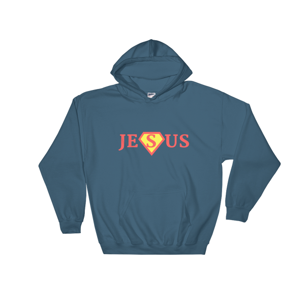 "Hooded Sweatshirt ""JESUS"""