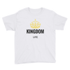 "Youth Short Sleeve T-Shirt ""Kingdom Life"""