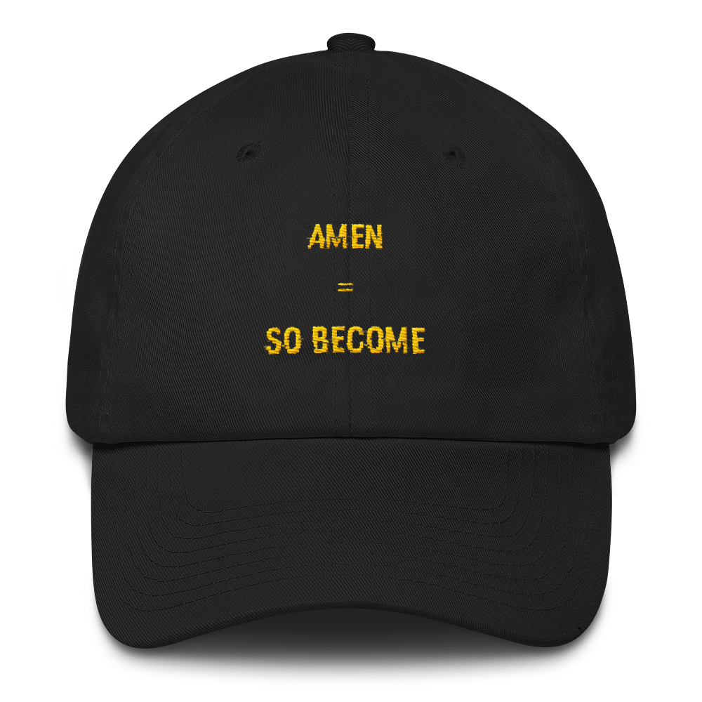 "Cotton Cap ""Amen"""