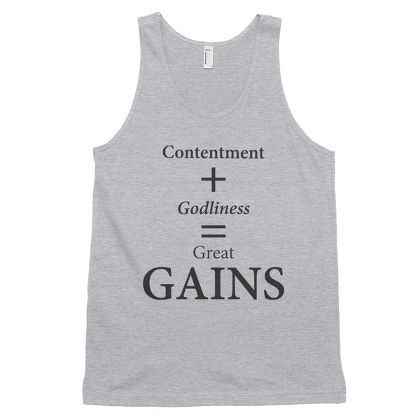 Classic tank top: GAINS
