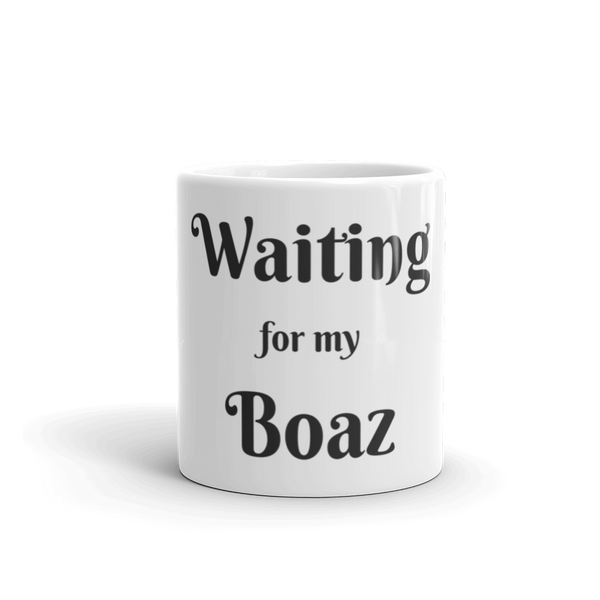 Mug: Waiting for my Boaz