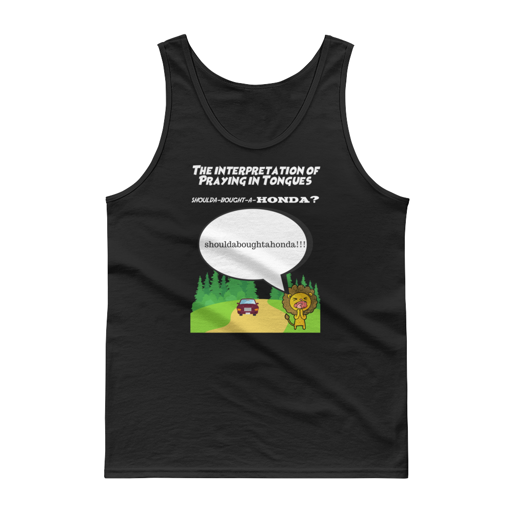 "Tank top ""Praying in Tongues"""