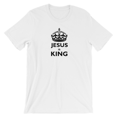 Short-Sleeve T-Shirt: Jesus is King