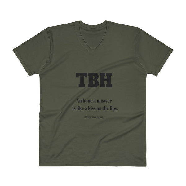 V-Neck T-Shirt: TBH