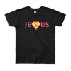 "Youth Short Sleeve T-Shirt ""JESUS"""