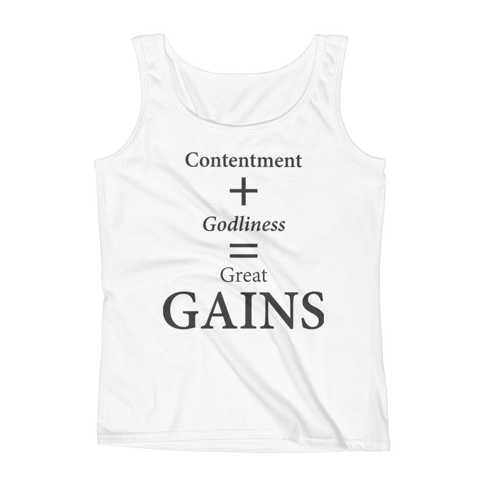 Ladies' Tank: GAINS