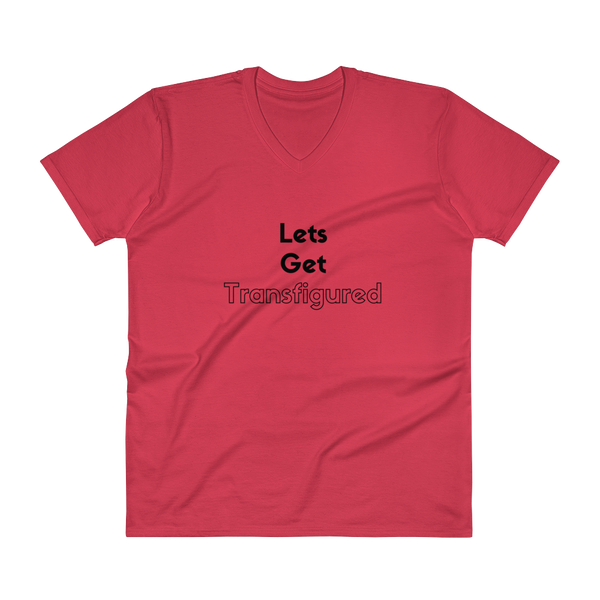 V-Neck T-Shirt: Lets get Transfigured
