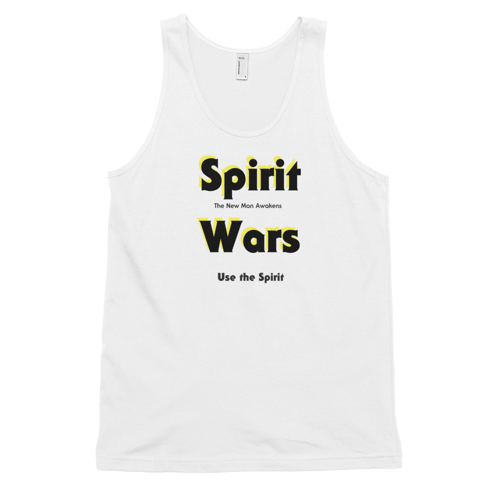 "Classic tank top (unisex) ""Spirit Wars The New Man Awakens"""