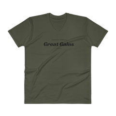 V-Neck T-Shirt: Great Gains