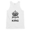 Classic tank top: Jesus is King