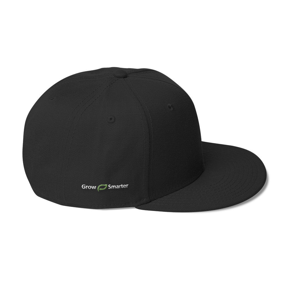 Black Dirt Snapback Hat