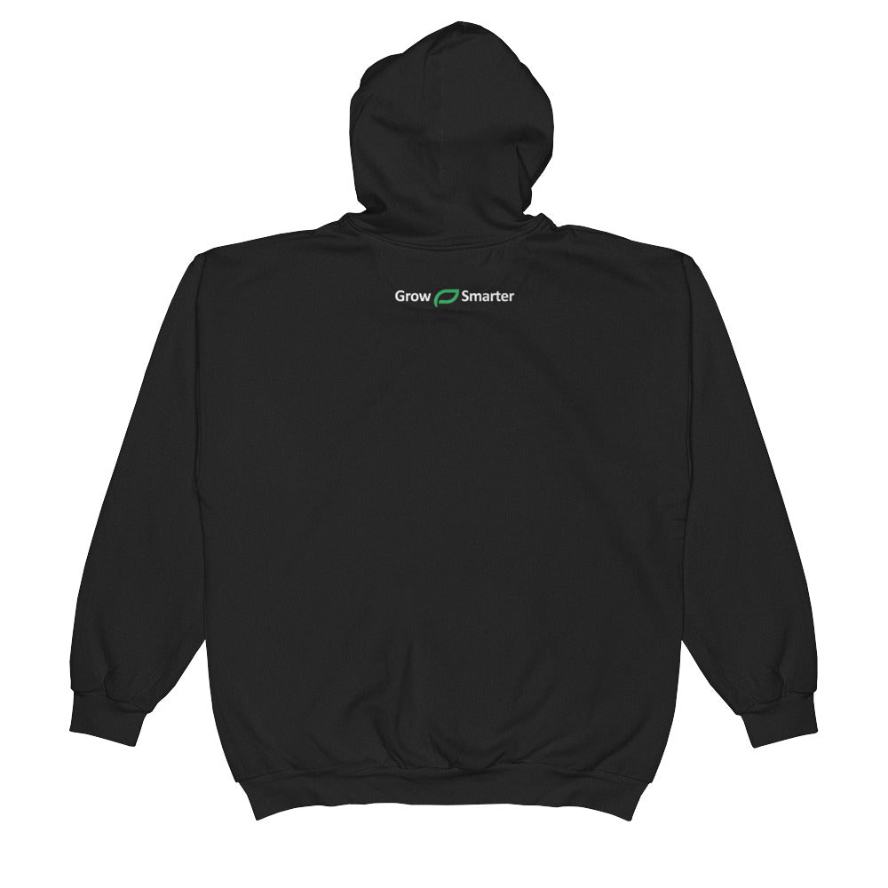 Black Dirt Zipper Sweatshirt