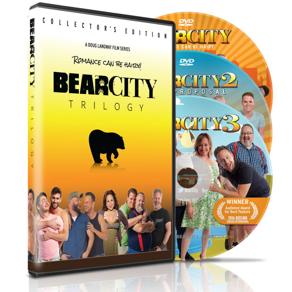 BEARCITY TRILOGY DVD Collector's Edition 3-Disc Set - FREE SHIPPING