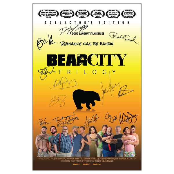 Collector's Edition BearCity Trilogy Poster