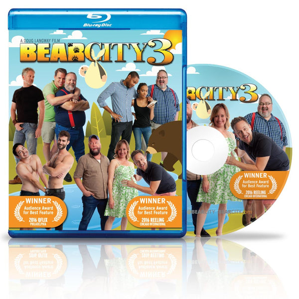 BEARCITY 3 BLU-RAY – Free Shipping!