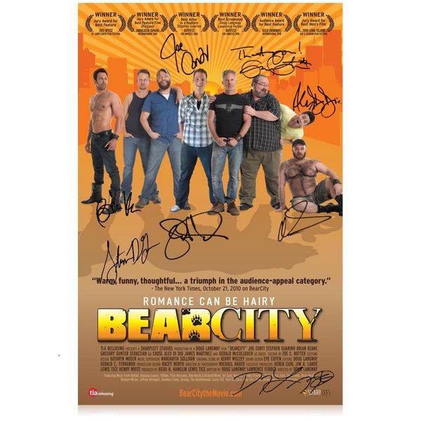 BearCity Signed Poster