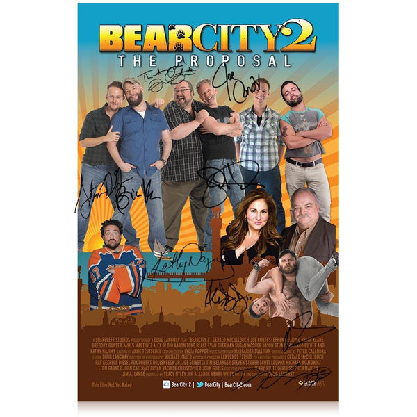 BearCity 2 Signed Poster