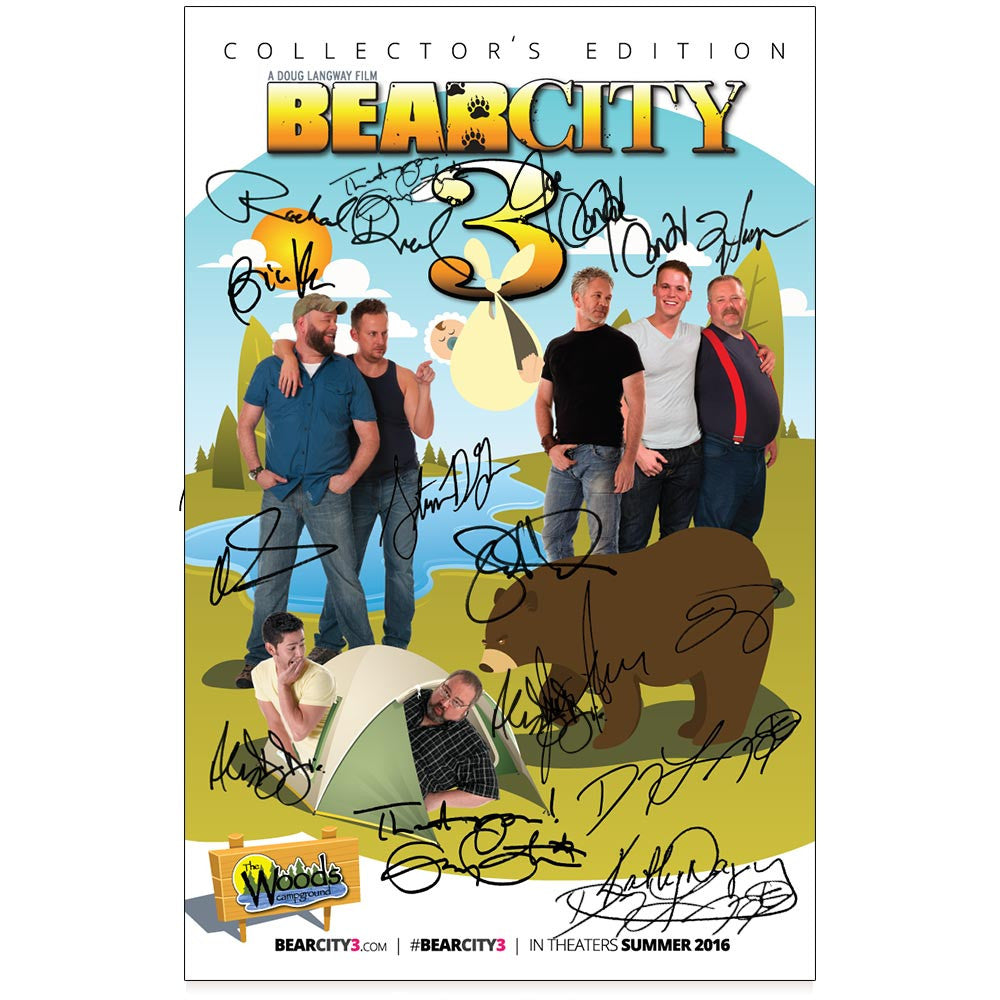 Collector's Edition BearCity 3 Poster