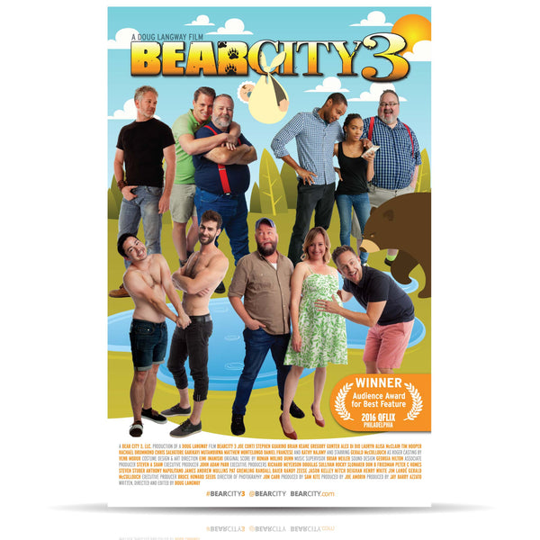 BearCity 3 Signed Poster