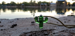 Daltonion Glass Saguaro Pendant