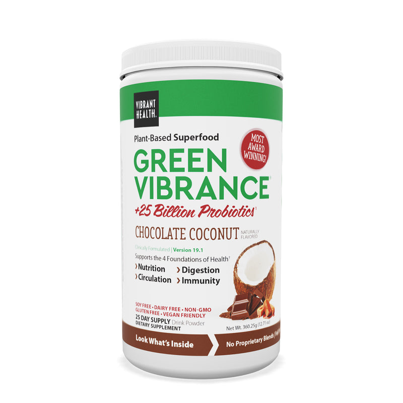 Green Vibrance Chocolate Coconut