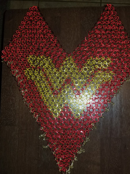 Wonder Woman Heart Top