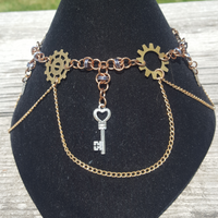 Steampunk Stairway-to-Heaven Necklace