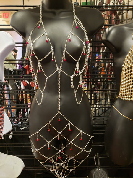 Diamond Dress Body Chain