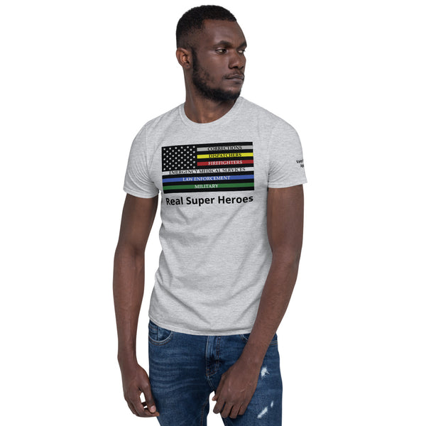 """First Responder Pride flag"" T-Shirt"