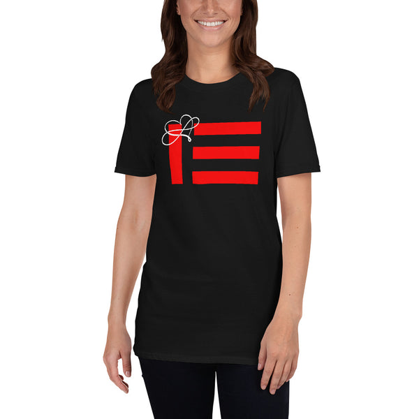 """MS - Infinity Heart Pride"" flag T-Shirt"