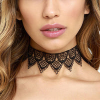 Dual Layer Lace Choker