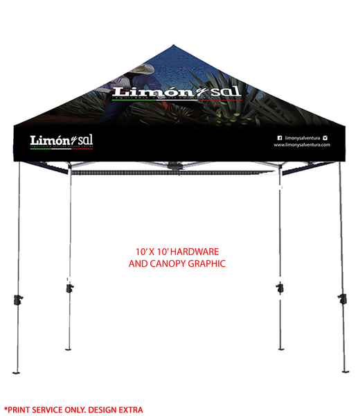 10x10 Event Tent (Full Color)