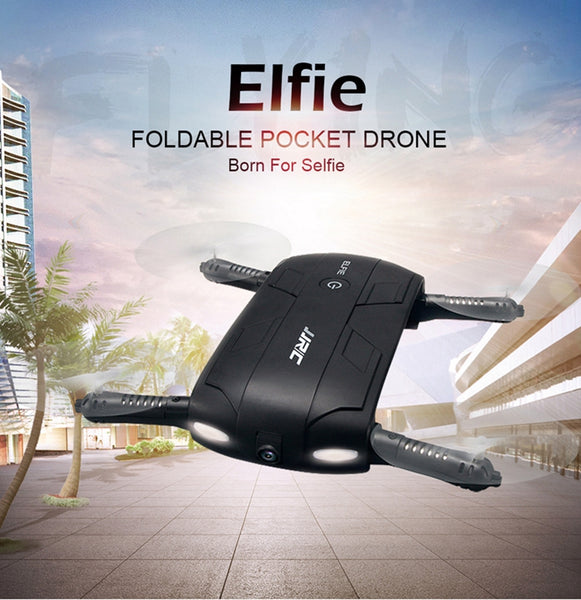 JJRC H37 ELFIE Foldable Mini WIFI Selfie Drone With Camera