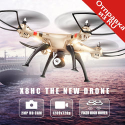 Syma X8HC Drone (X8C Upgrade) with 2MP HD Camera 2.4G 4CH 6-axis RC Quadcopter