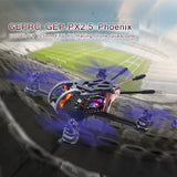 GEPRC GEP-PX2.5 Phoenix 600TVL Racing Drone with 125mm Camera