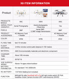 SYMA Official X8G Drone with 8MP HD Wide Angle Camera