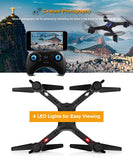 Flymax II WiFi Quadcopter with 2.4G WIFI FPV & Streaming Drone With Wide Angle HD Camera