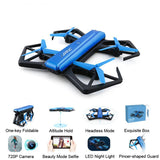 JJRC H43WH Blue Crab WIFI FPV Foldable RC Quadcopter with HD Camera