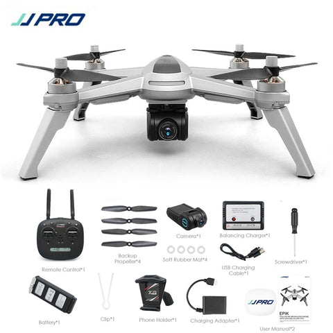 "JJRC JJPRO X5 5G GPS WIFI FPV With 1080P HD Camera ""Follow Me"" Drone Quadcopter"