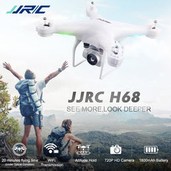 JJRC H68 Bellwether WiFi FPV 2MP 720P HD Camera RC Quadcopter