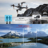 XINLIN X198 2.4G 5G Wifi 720P or 1080P Camera Wifi FPV RC Drone