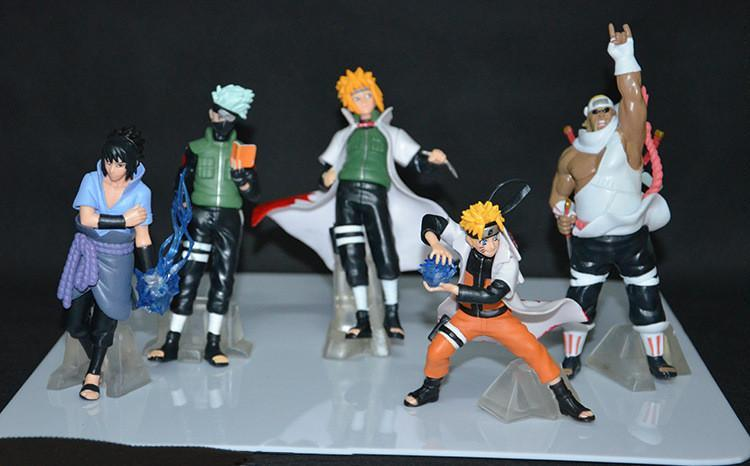 5 Pc Naruto Action Collector's Set anime-store