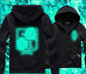 Attack on Titan Hoodie Glowing Collection anime-store