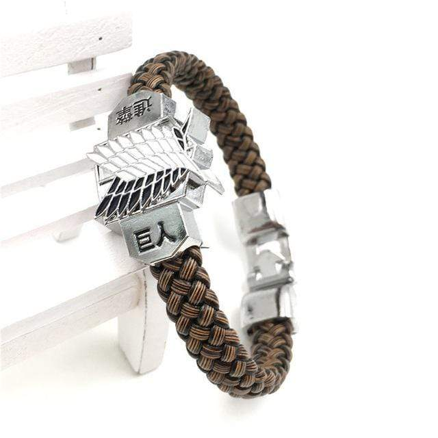 Attack On Titan Rope Chain Bracelets anime-store