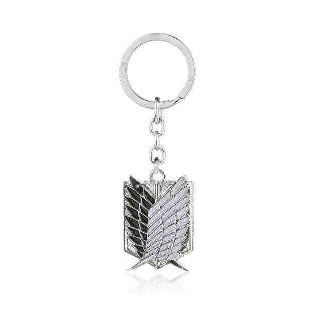 Attack On Titan Silver Keychains anime-store