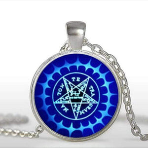 Black Butler Glass Icon Necklaces (12) anime-store