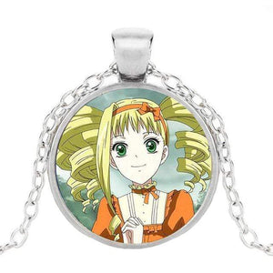 Black Butler Glass Icon Necklaces (18) anime-store