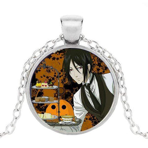 Black Butler Glass Icon Necklaces Collection anime-store