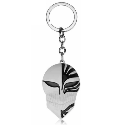 Black God of Death Mask Keychain anime-store